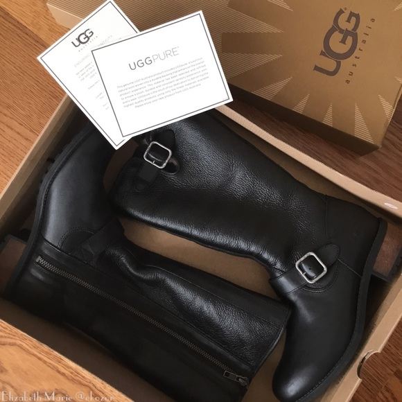 a143c517f9e UGG Chancery Boot in Black Brand New in Box!